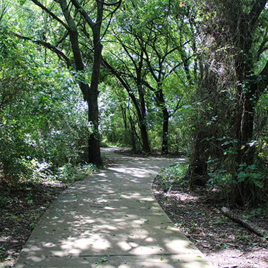 Trail at Frisco Commons Park