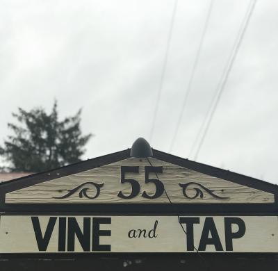 Vine & Tap Sign