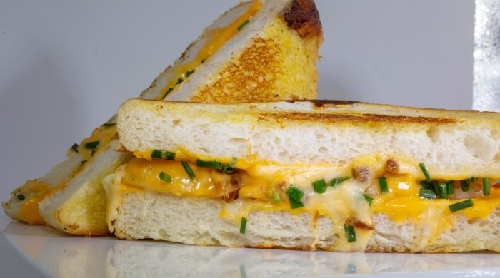 Cheesie's grilled cheese