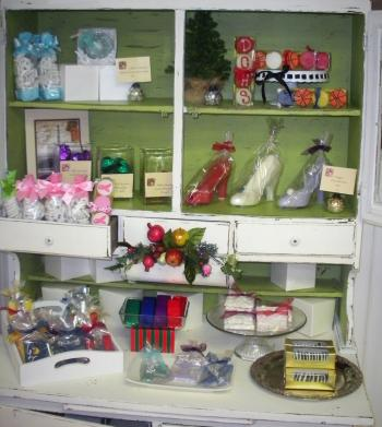 Confection Delights cabinet