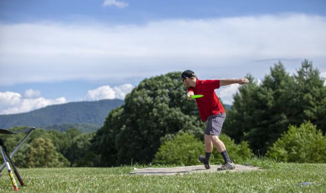 Mayflower Hills Disc Golf - Roanoke County