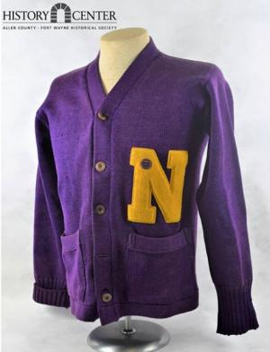 Basketball Letterman Sweater from New Haven High School.