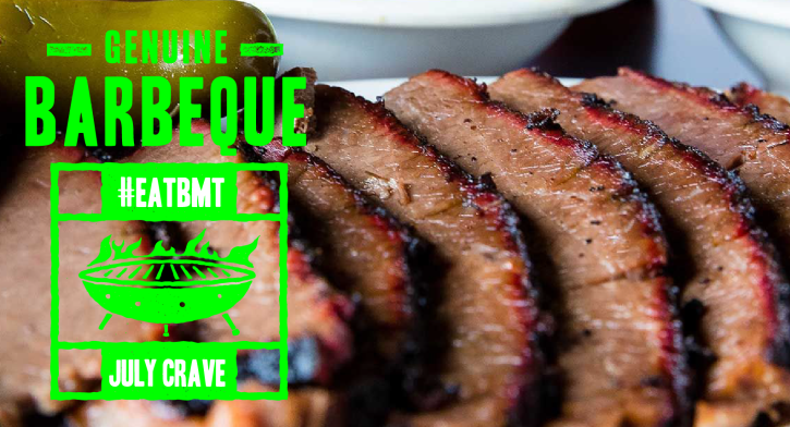 Genuine Barbeque Logo #EATBMT