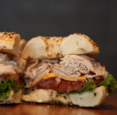 Barry Bagel Turkey Sandwich