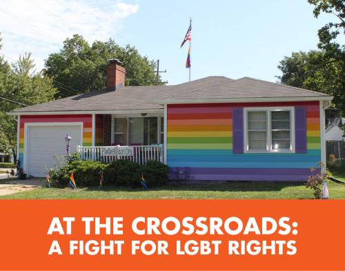Equality house at the crossroads tile