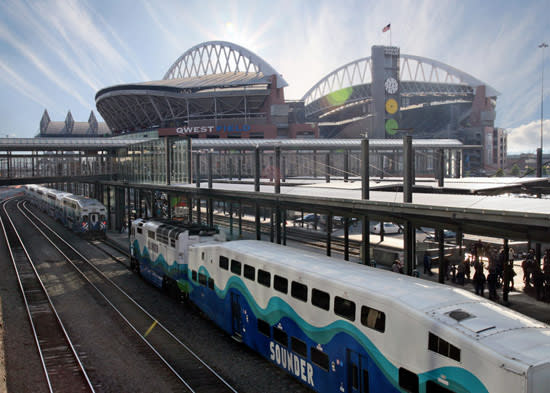 Sounder Train in Seattle