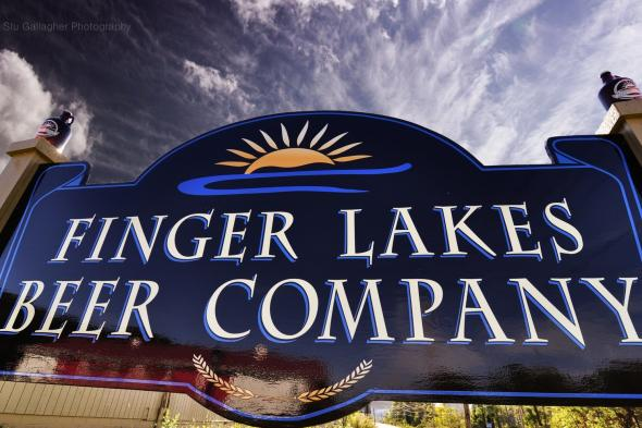 Finger Lakes Beer Company sign