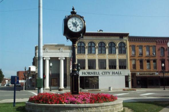 Hornell Clock Tower