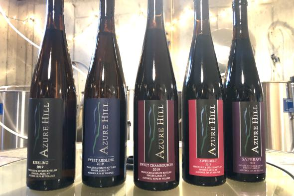 Azure Hill 2019 Wines