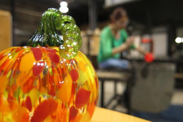 Make-Your-Own Glass Pumpkin