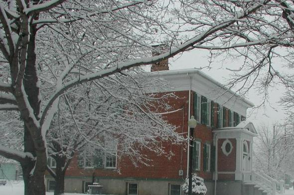 Winter at the Historical Society