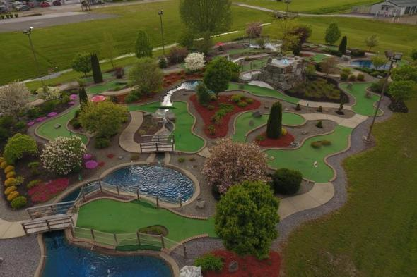 Mini Golf Course