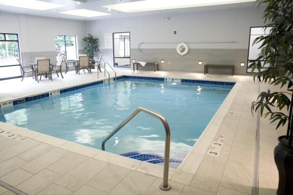 Modern Indoor Heated Pool