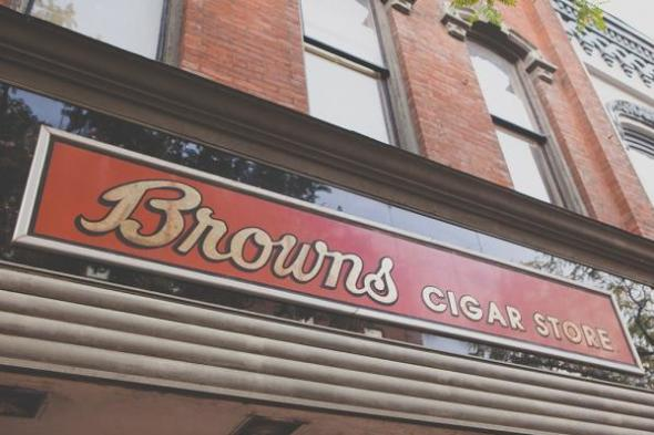 Brown's Sign