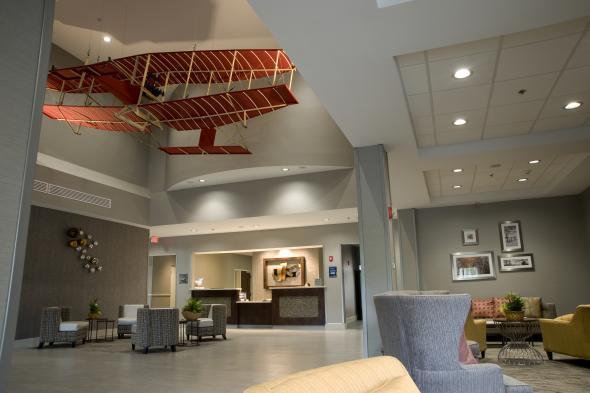 Best  Western Plus Hammondsport Hotel Lobby