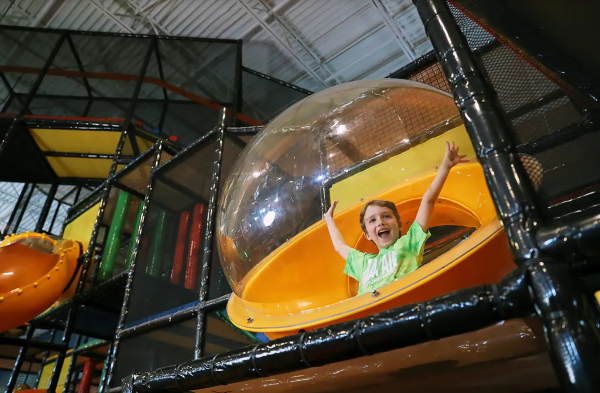 Kid friendly playtime at Urban Air Adventure Park