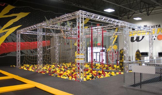 Foam Pit at Wichita Sports Forum/Aviate