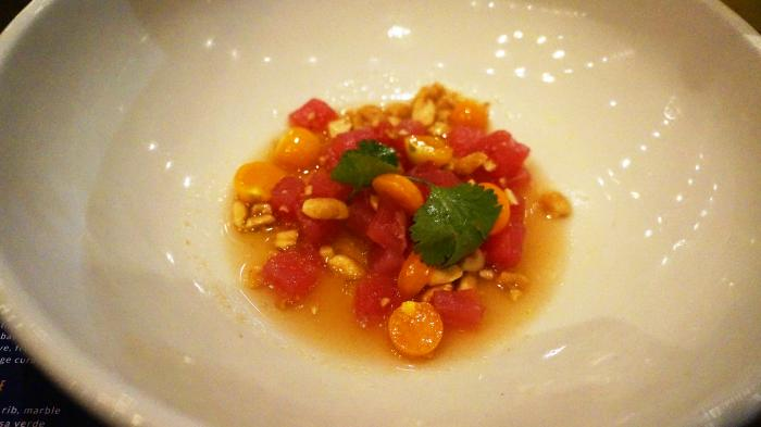 tuna crudo - balcones