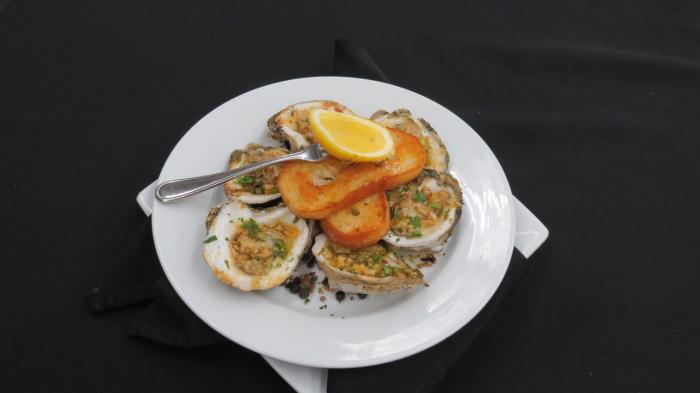Grilled Oysters at The Shores Resort &Spa