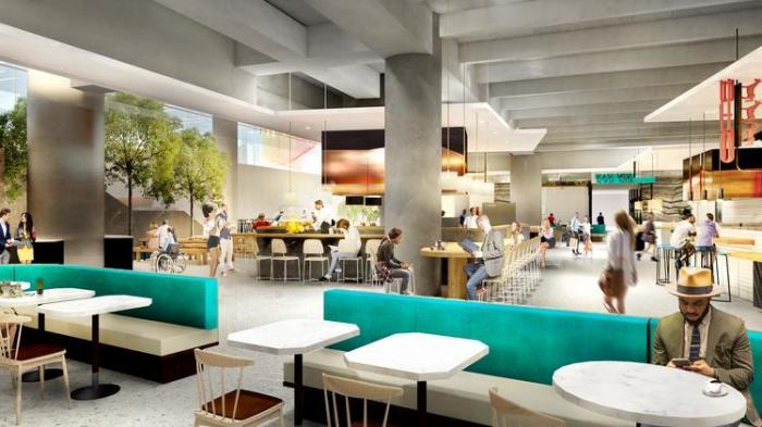 Understory food hall rendering