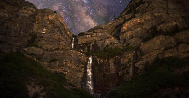 Summer Nights Activities in Utah Valley - Waterfall Hike