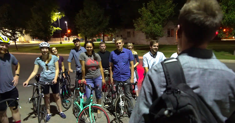 Summer Nights in Utah Valley - Bike Ghost Tours