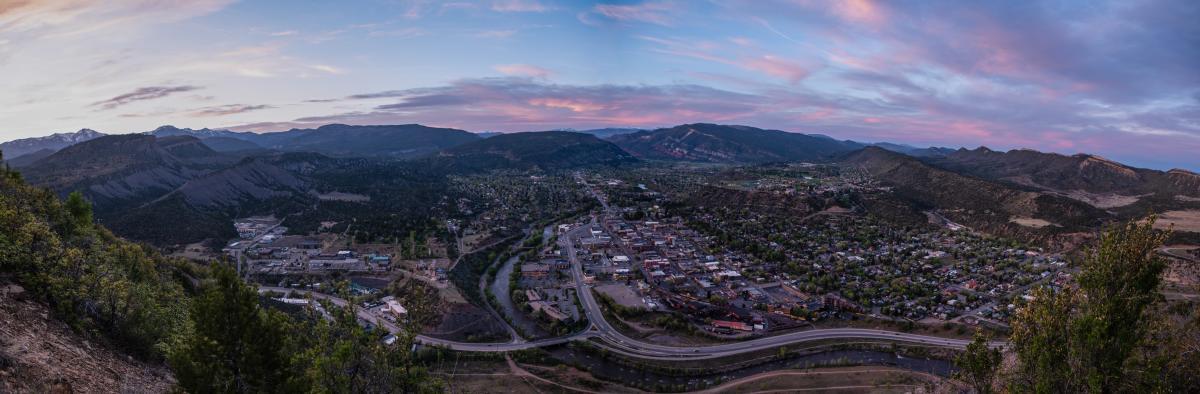 Smelter Mtn at Sunset