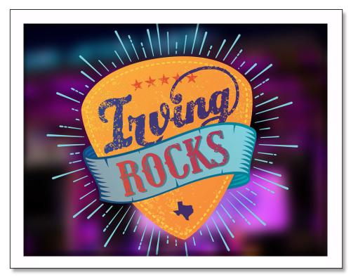 Irving Rocks Snapshot
