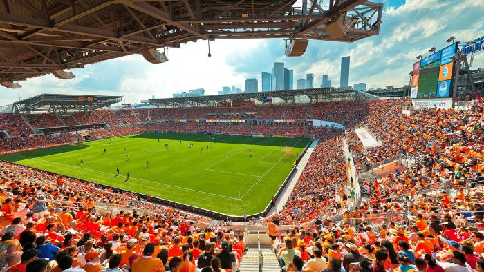 BBVA / Houston Dynamo Stadium Opening Day