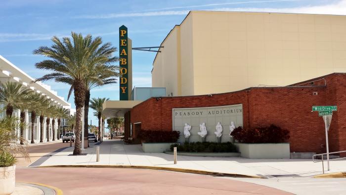 Peabody Auditorium entrance