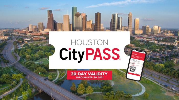 HoustonCityPASS 30-day validity