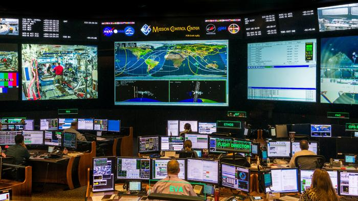 Lyndon B. Johnson Space Center Mission Control
