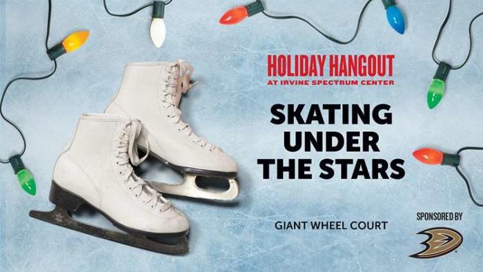 Skating Under the Stars Banner Irvine Spectrum Center