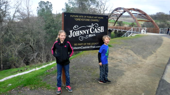 Johnny Cash Trail Folsom, CA