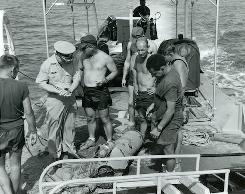 SMS Cormoran Salvage Crew