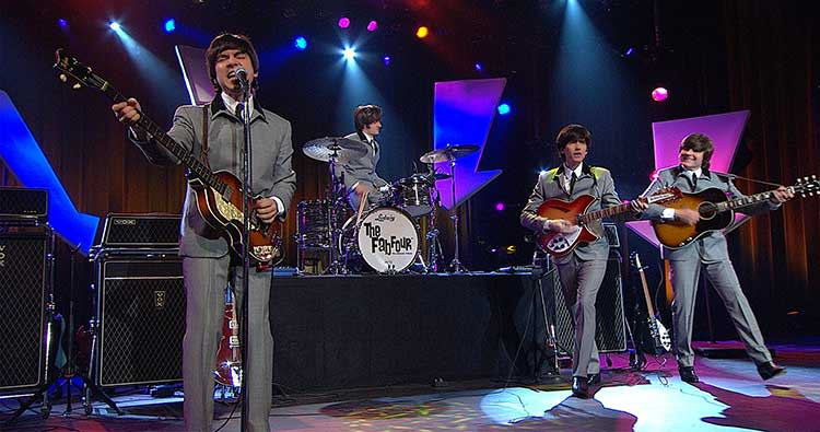The Fab Four in concert