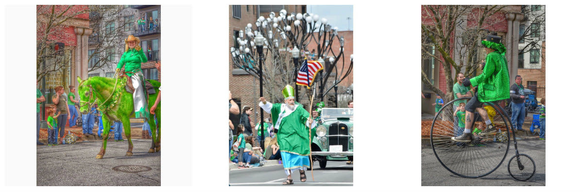 Scenes from the St. Patrick's Day Parade in Huntsville