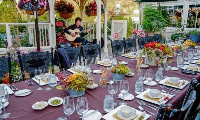Backyard Winemaker Dinner featuring Vina Robles Winery