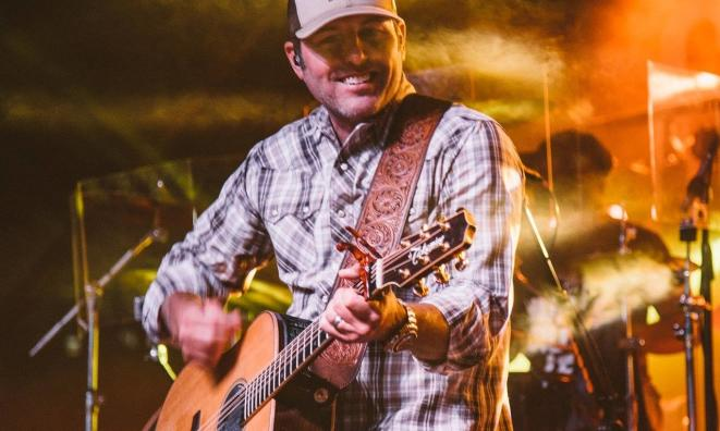 Casey Donahew at the Poly Royal Rodeo