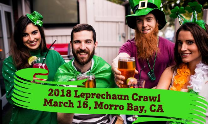 Morro Bay Leprechaun Crawl!