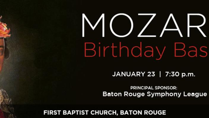 Baton Rouge Symphony - Mozart Birthday Bash