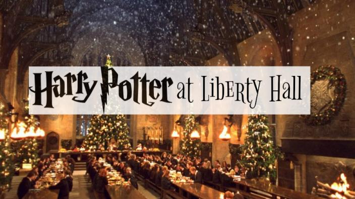 Christmas Tours Begin! Harry Potter at Liberty Hall!