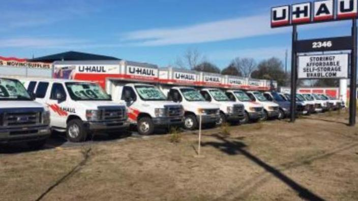 U Haul Moving Storage Of Fayetteville At Coliseum