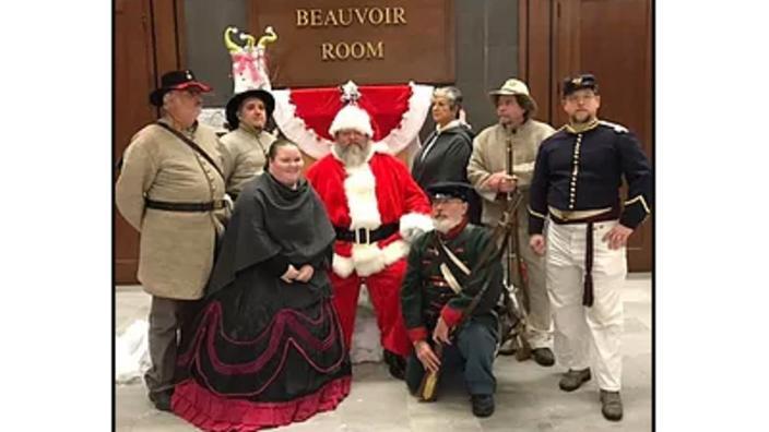 Christmas Time at Beauvoir