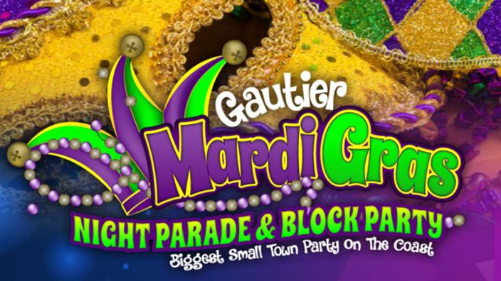 Annual Gautier Men's Club Mardi Gras Parade