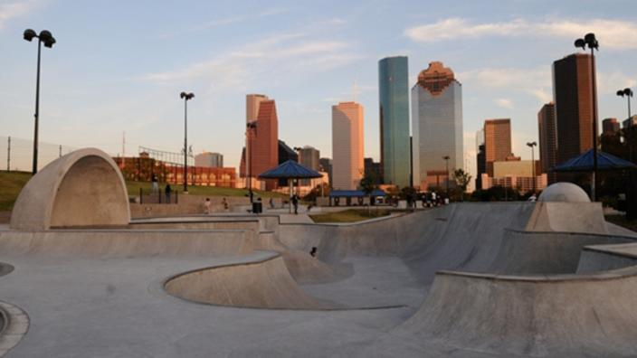 Lee and Joe Jamail Skatepark | Things To Do in Houston, TX 77007