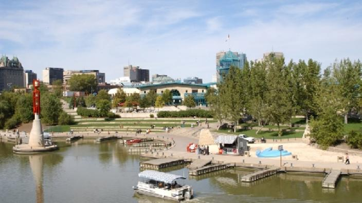 The Forks Historic Port and Riverwalk