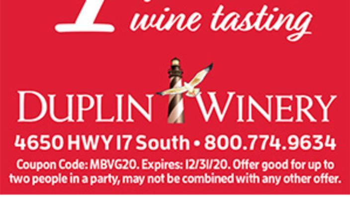 Duplin Winery 1 Off Wine Tasting