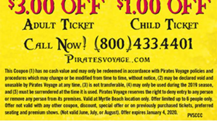 pirates voyage pigeon forge coupon code