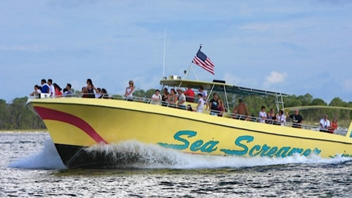 sea screamer panama city beach florida